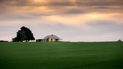 Sunset (RWYoung Images) Tags: rwyoung canon 5d3 maitland yorkepeninsula southaustralia abandoned empty farm rural field paddock rain sunset sky cloud
