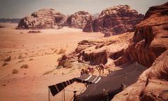 Camp (madcityfinearts) Tags: jordan wadirum bedouin desert cliffs sand sandstone landscape travel