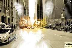 Katze in New York (fobo.at) Tags: new york licht gimp mainecoon katze kater strase hauska mehrfachbelichtung darktable multilplexposure