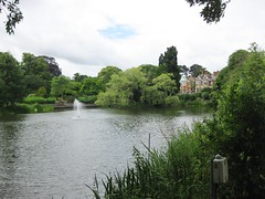 View of Bletchley Park mansion from across the lake (Shuki Raz) Tags: park turing bletchley decoding