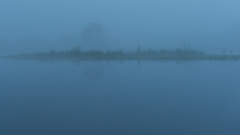 Cerknica Lake (happy.apple) Tags: morning fog si slovenia slovenija cerknica cerknicalake cerkniškojezero intermittentlake dolenjejezero močvirskigrint