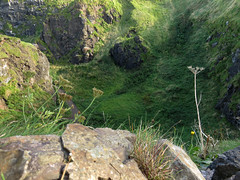 View from Dunluce Castle ruins in Northern Ireland, UK (albatz) Tags: dunlucecastle museum northernireland uk view ocean rockformations
