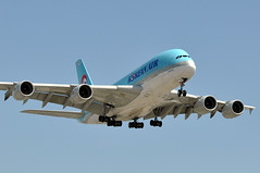 HL7628  LAX (airlines470) Tags: hl7628 a380 msn 156 korean air lax airport a380800 a380861 inout burger