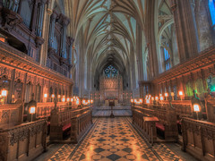 The Life We Choose Before Trouble Comes (Wizard CG) Tags: world uk windows light england building heritage church architecture bristol arch cathedral ngc gothic indoor vault hdr trekker 12thcentury epl7
