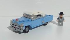 1953 Pontiac Catalina (LegoEng) Tags: legoeng lego 1953 1950s american america car sedan pontiac catalina