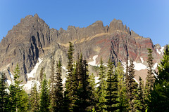 Lines and Ridges (gwendolyn.allsop) Tags: mountain oregon three fingered jack layers color wilderness d5200