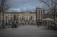 Plaza de Santa Ana (pelpis) Tags: madrid spain people streetscene street city cityscape landscape places place humans humansrelations