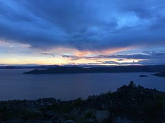 Sunset in Amantani, Lake Titicaca, Peru (zzhing) Tags: titicaca lake sunset amantani peru