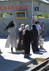 Hijab Womens (Buses,Trains and Fetish) Tags: hijab burka chador girl niqab women