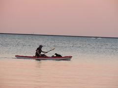 Sunday at the Lake (Andrew Penney Photography) Tags: sunday sun sunset orange skies sunsetorangepearl atl lake boats kayaking summer july31