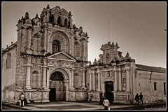 Iglesia de San Pedro Apstol / St. Peter the Apostle  Church (drlopezfranco) Tags: guatemala sacatepequez antigua church iglesia apostol apoltle pedro peter hospital bn bw social colnial colonial