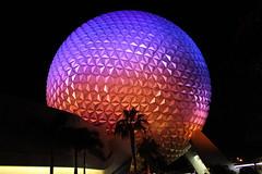 Spaceship Earth by night (iainthomson84) Tags: walt disney world orlando florida usa 2016 july epcot experimental prototype community of tomorrow summer