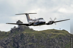 RAF King Air, 45(R) Sqn Centenary, Dunmail. 1/8/16 (TheSpur8) Tags: other aircraft date partialll uk lakedistrict skarbinski military lowlevel dunmailraise 2016 anationality places transport
