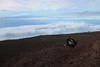 changing lenses (heartinhawaii) Tags: me candid maui haleakala rocks lavarocks cloudy upcountry summit volcanosummit haleakalasummit 10023feet 10023elevation mauivolcano hawaii mauiinnovember canons90