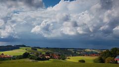 Das Isental (joseph_donnelly) Tags: bayern bavaria isen isental valley clouds wolken landscape landshaft hills sunlight shadows fields cloudy stormy stormclouds