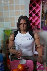 Bucky's birthday (Alice_Milich) Tags: bucky barnes winter soldier birthday party action figure 16 verycool vcf2021a kumik custom chris redfield