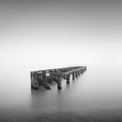 Box (C A Soukup) Tags: sanfranciscio a7r blackandwhite chrissyfield fog longexposure minimal minimalism minimalist