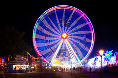 """Wiener Prater"" (jochenlorenz_photografic) Tags: wienerprater prater vienna tourismus sightseeing longtimeexposure longexposure nikond7100 tokina1116mm28 tripod rolleic5i colorful nightshot nightsession movement move outdoor fair spinning spinningthewheel explore discoveraustria visitvienna"