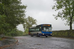 X117JFV doing the school run. (Vodka Burner) Tags: x117jfv 21123 bubbletravel volvob10ble wrightbus wrightrenown stagecoachmerseysidesouthlancashire stagecoach lancashire