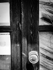 ENOKAPTA (spolikanov) Tags: white black door paymentsystem ellada greece elounda