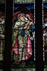 IMGP5038 (dvdbramhall) Tags: stainedglass glass window church scotland linlithgow stmichaels burnejones preraphaelite