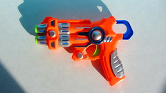 Alien Invasion Only You Can Save Us Foam Dart Shooter By ITP Imports Alien FX Industries Toy Bank England - 7 Of 7 (Kelvin64) Tags: alien invasion only you can save us foam dart shooter by itp imports fx industries toy bank england
