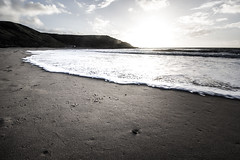 IMG_2408-1 (thumblengthlegs) Tags: sunset whistling sands wales beach sand waves