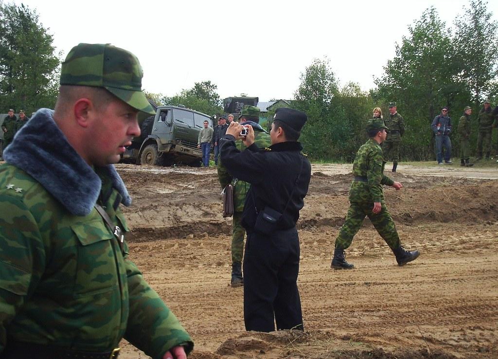фото: Combined-arms river crossing training. Klyazma riv. Gorokhovets.