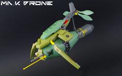 Ma.K Drone (01) (F@bz) Tags: mak maschinenkrieger maktober lego moc