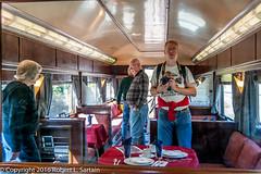 Inside the Alexander Hamilton, Boonton, 2016-09-25 (redheadedrobbie1) Tags: selfportrait alexanderhamilton railroad passenger car classic