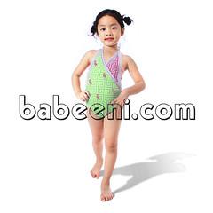 Beautiful crane swimsuit for little girls (babeeniclothing) Tags: girl swimwear swimsuit clothing fashion cute love beautiful portrait nice beach summer