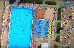 Basen z wodnym placem zabaw (bielawamiasto) Tags: bielawa basen plac zabaw jezioro park wodny polska