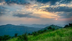 Early morning sunset (kaustubh.nerurkar) Tags: ngc india pune maharashtra travel trek mountains sunrise clouds sky colors sun nikon