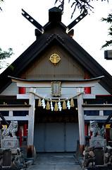 Komitake Shrine 2 (pokoroto) Tags: mount fuji  fujisan yamanashi prefecture   japan 8   hachigatsu hazuki leafmonth 2016 28 summer august