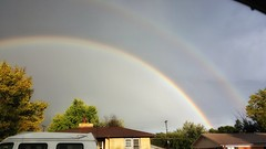 October Double Rainbow (Flickr Goot) Tags: october 2016 samsung galaxy s6 project 365 project365 rainbow double