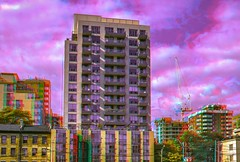 Shuter / Mutual St. 3-D / Toronto / Anaglyph / Stereoscopy / HDR / Raw (Stereotron) Tags: toronto to tdot hogtown thequeencity thebigsmoke torontonian downtown urban citylife architecture building block appartments balconies sky anaglyph anaglyph3d redcyan redgreen optimized anaglyphic anabuilder 3d 3dphoto 3dstereo 3rddimension spatial stereo stereo3d stereophoto stereophotography stereoscopic stereoscopy stereotron threedimensional stereoview stereophotomaker stereophotograph 3dpicture 3dglasses 3dimage hyperstereo twin canon eos 550d yongnuo radio transmitter remote control synchron in synch kitlens 1855mm tonemapping hdr hdri raw