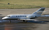 F-GHCR. Dassault Falcon 20 (Ayronautica) Tags: 1990 february ayronautica aviation scanned edi egph edinburgh execjet bizjet dassaultfalcon20 fghcr