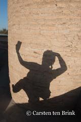 At Char Minar (Four Minarets) - the obligatory self-portrait (10b travelling) Tags: 10b 10btravelling 2015 asia asien bukhara buxoro carstentenbrink centralasia charminar chorminor iptcbasic islam silkroad sovietunion ussr uzbek uzbekistan city four holy minarets quartet selfportrait selfie tenbrink thestans tower