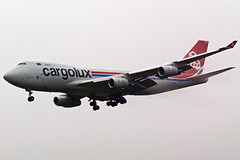 Cargolux Boeing 747 LX-OCV (Sam Pedley) Tags: 747 cargolux boeing lxocv eastmidlandsairport b744 747f boeing747 ema egnx f1 formula1 f1flight f1charter sportsflight sportscharter clx cityofdifferdange 747400 jumbojet cargo freighter formula1charter rb211 clx611