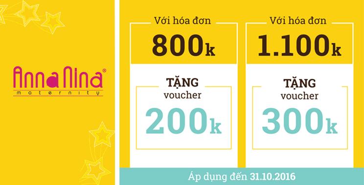 Đầm bầu AnnaNina TẶNG 300K khi HĐ 1,1 triệu