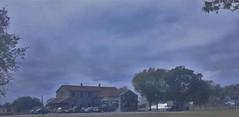 The Telico Gin: Built 1940 (Photosintheattic (Devy)) Tags: outdoor clouds sky barn cotton cottongin historic flickr vehicles venue ennistexas telicocottongin texas ennis landscape building