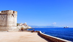 Antibes, South of France. (Roly-sisaphus) Tags: antibes southoffrance cotedazure frenchriviera nikond802016dsc1110