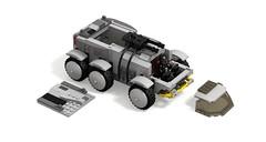 Star Citizen Ursa Rover panels off (turbokiwi) Tags: lego starcitizen ursa rover vehicle truck buggy transport