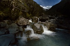 Bealey river (colinhansen1967) Tags: nikon d3200 tokina1116 river water rocks boulders sky snow trees landscape mountainriver arthurspass newzealand alps southernalps