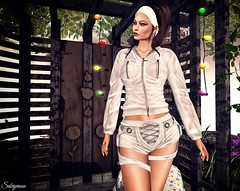 Sabrymoon wearing E-Clipse Design Obscura Jacket and Shorts @ Tres Chic (Two Too Fashion) Tags: secondlife secondlifemodel style stylish sexy sensual treschic eclipsedesign obscurajacket obscurashorts fashion fashiondress femaleoutfit event casualchic casual chic chicoutfit fashionoutfit femaleshorts femalejacket events