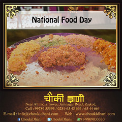 National Food Day (ChoukiDhani) Tags: day nationalfoodday celebration real eatreal promise serve best resort hotel motel restaurant foodlover fooditems