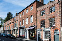 Arundel - 18th Century Red Brick Buildings 26-28 High Street (Le Monde1) Tags: arundel howard dukeofnorfolk lemonde1 nikon d610 town castle cathedral romancatholic market westsussex england county uk southdowns riverarun frenchgothic architect josephaloysiushansom 18thcentury redbrick buildings highstreet