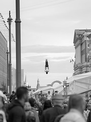 Suspension (potterandrew1) Tags: suspended midair moscow moscowday trampoline upsidedown people crowds frozen frozenintime modernlife today