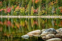 On Jordan Pond (59roadking - Jim Johnston) Tags: ifttt 500px acadia national park maine hancock county water rocks trees mountains forest jordan pond autumn fall