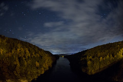French King Br_20161023_023 (falconn67) Tags: frenchkingbridge connecticutriver newengland massachusetts erving autumn fall trees river nature sky canon 5dmarkiii sigma fisheye 15mm night stars longexposure